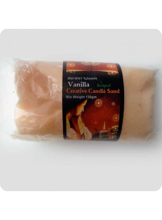 Stearinsand med duft - vanille