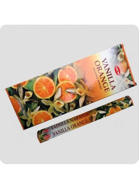HEM hexa røgelse - Vanille appelsin