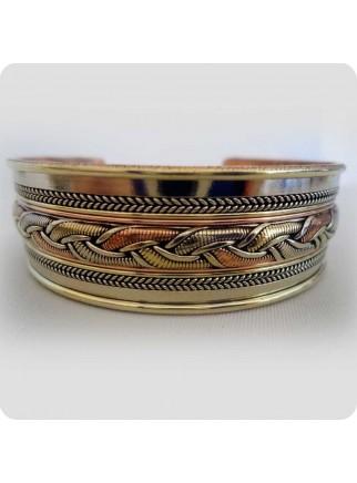 Tibetansk armbånd 3 metaller
