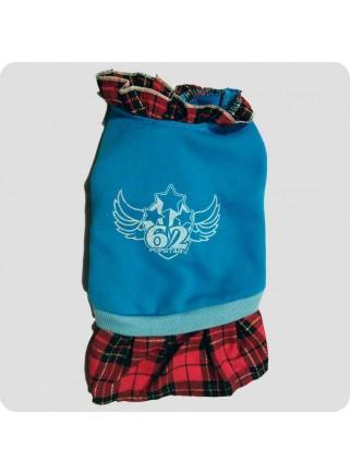 Turkis kjole skotsk stil