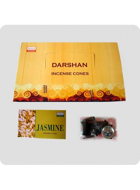 Darshan incense cones jasmine