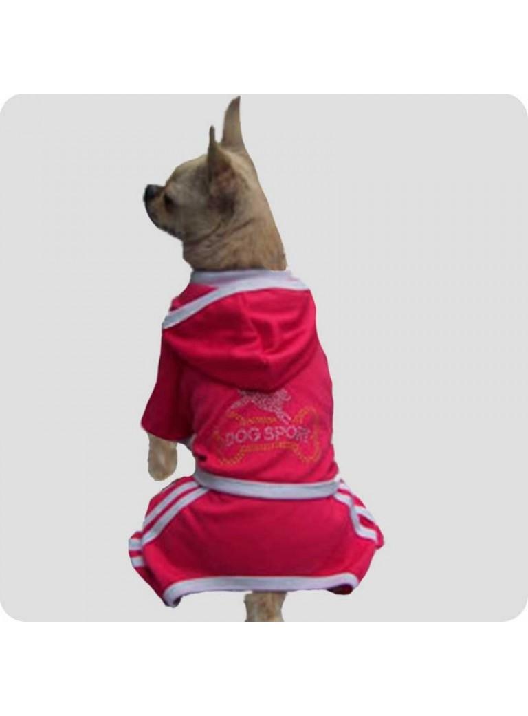 Jogging suit hot pink size L