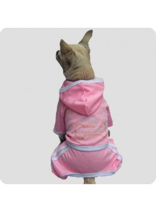 Jogging suit pink size XL