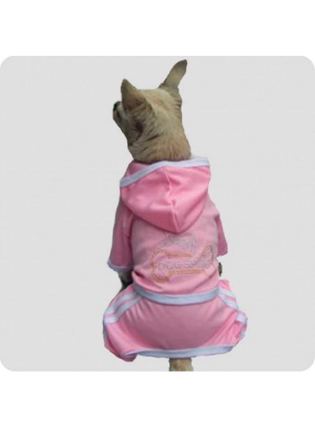 Jogging suit pink size S