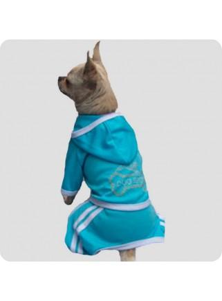 Jogging suit blue size M