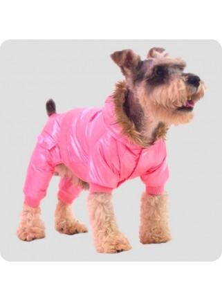 Pink suit 4-legs size XL