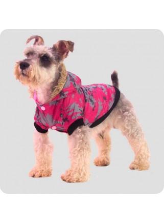 Jacket pink/grey 2 legs M