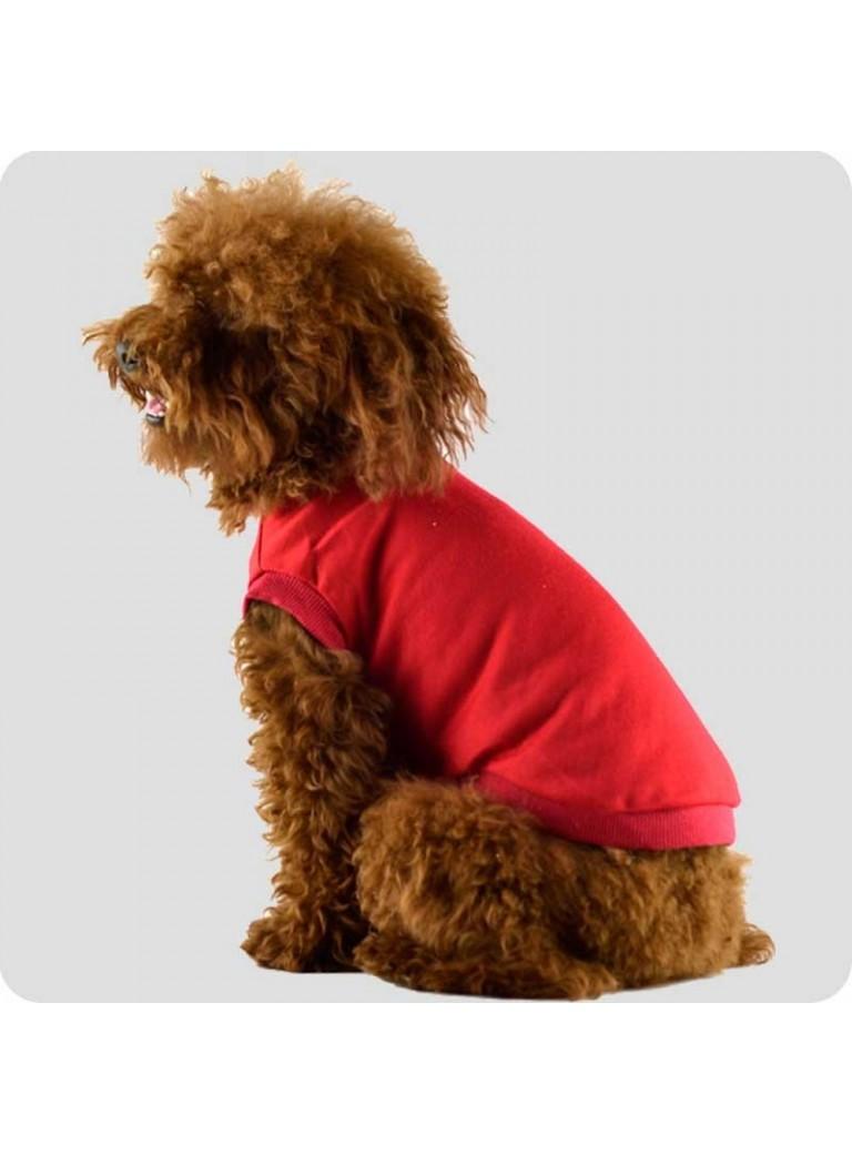 T-shirt rød str. L