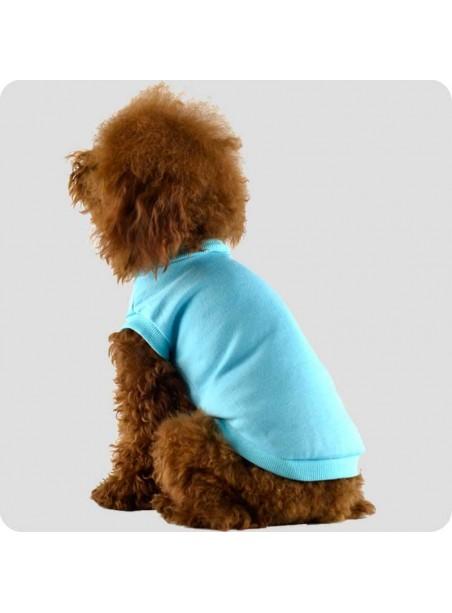 T-shirt lyseblå str. L