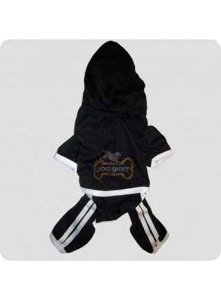 Jogging suit black size M
