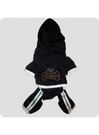 Jogging suit black size M