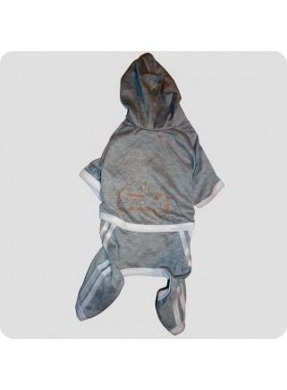 Jogging suit grey size L