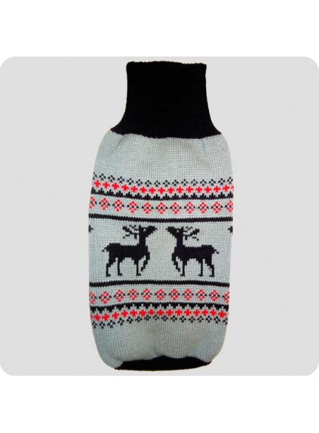Sweater with reindeers L
