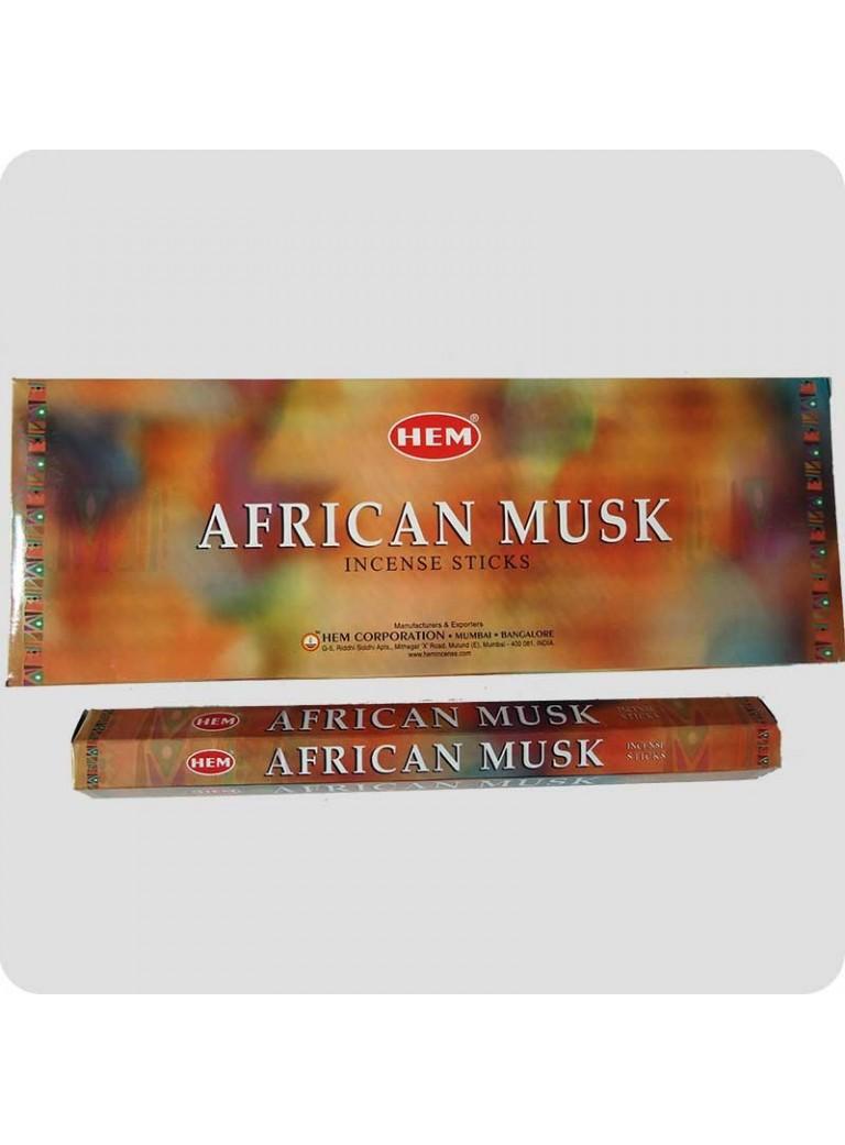 HEM hexa røgelse 6-pack - African Musk