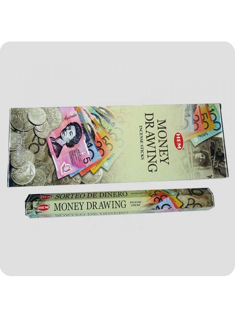 HEM hexa røgelse 6-pack - Moneydrawing