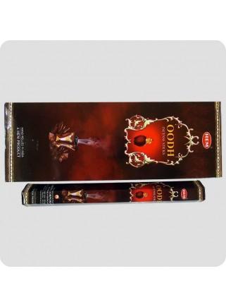 HEM hexa røgelse 6-pack - Oodh (aloeswood/agarwood)