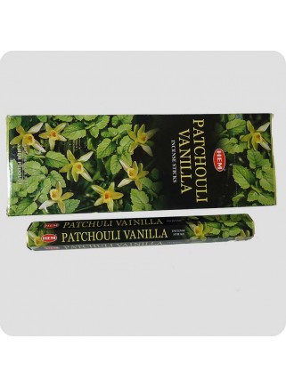 HEM hexa røgelse 6-pack - Patchouli/Vanille