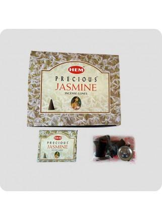 HEM incense cones 12-pack Precious Jasmine