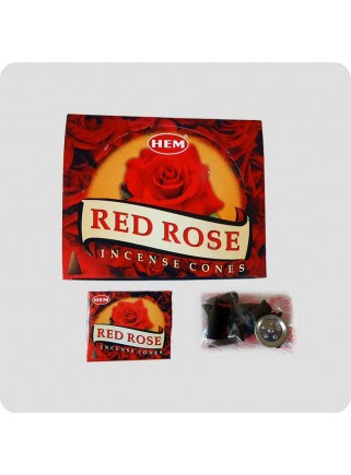 HEM incense cones 12-pack Rose