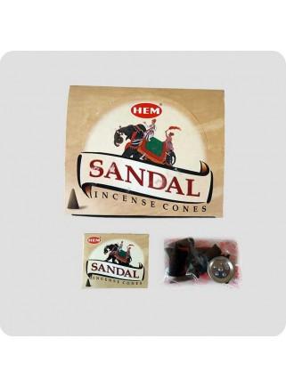 HEM incense cones 12-pack Sandalwood