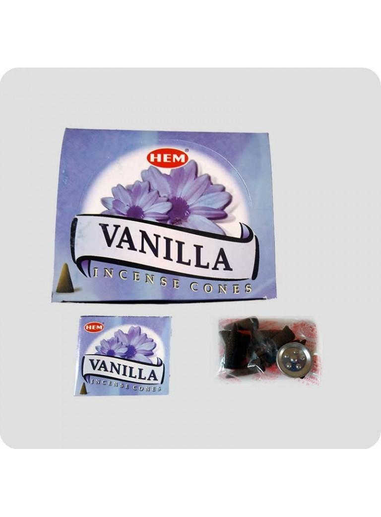 HEM incense cones 12-pack Vanilla