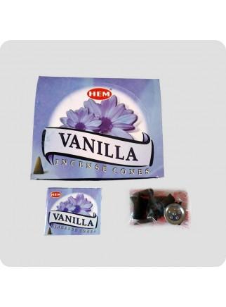 HEM røgelsestoppe 12-pack Vanille