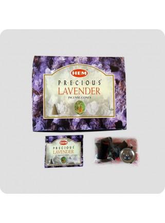 HEM røgelsestoppe 12-pack Precious Lavender