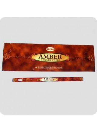 HEM square - amber