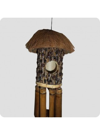 Windchime wooden bird house