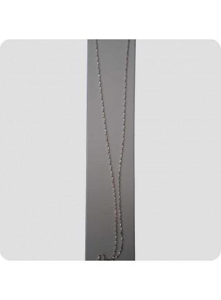 Halskæde sølv 45 cm classic