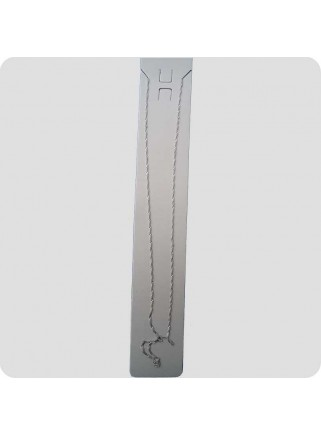 Silver chain 45 cm twist
