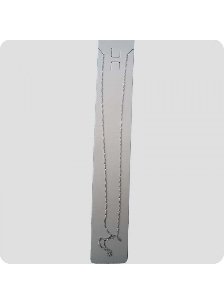 Halskæde sølv 45 cm twist