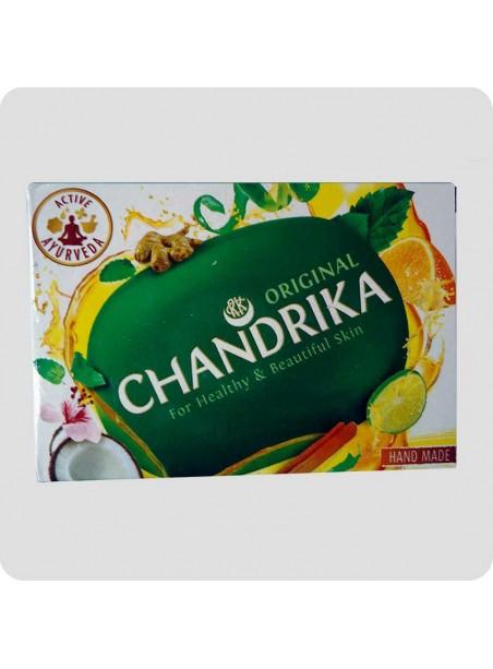 Chandrika Ayurvedic soap 125g expire Feb. 14