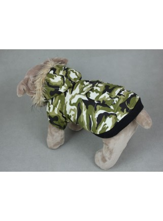 Camouflagejacket green 2 legs size L