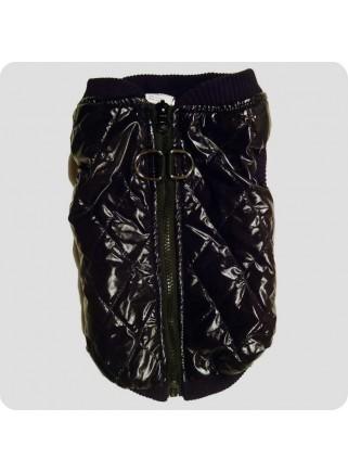 Quilted vest black size L