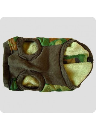 Quilted vest green size L