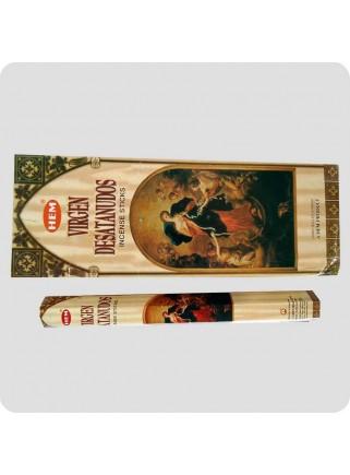 HEM hexa røgelse 6-pack - Virgen Desatanudos