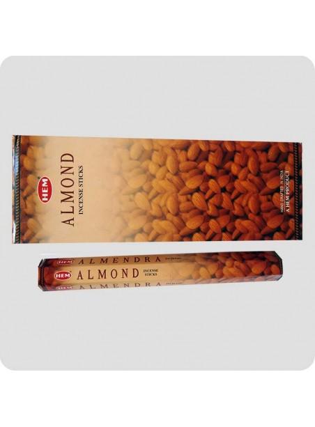 HEM hexa røgelse 6-pack - Almond (mandel)