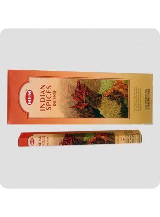 HEM hexa røgelse 6-pack - Indian Spices