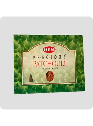 HEM incense cones 12-pack Precious Patchouli
