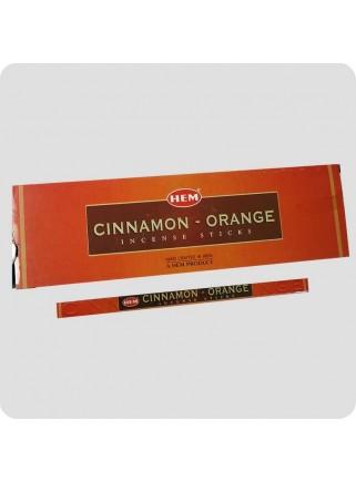 HEM square røgelse - Cinnamon orange