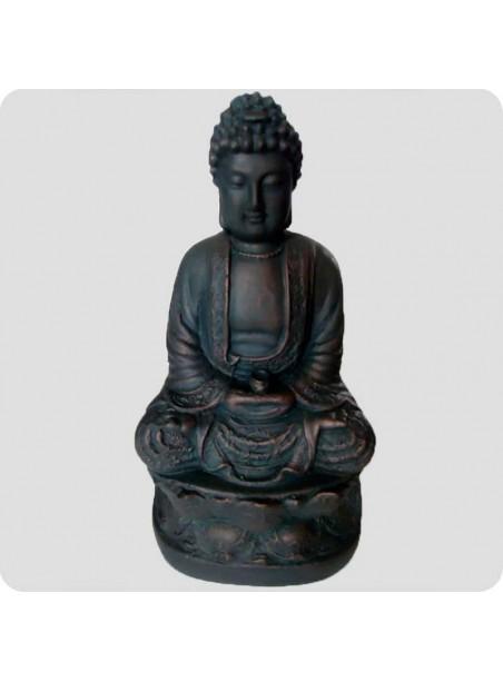 Buddha bronzelook 21 cm