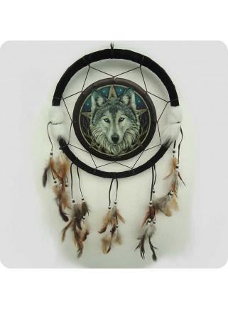 Skjold 33 cm ulvehoved