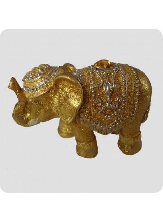 Røgelsesholder lykke elefant