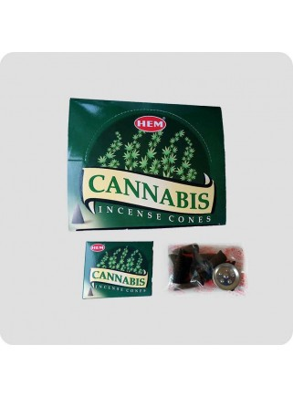 HEM incense cones Cannabis