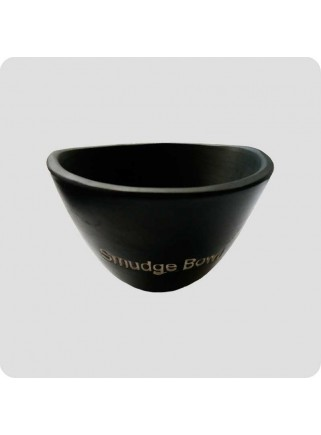 Small black bowl for smudgesticks