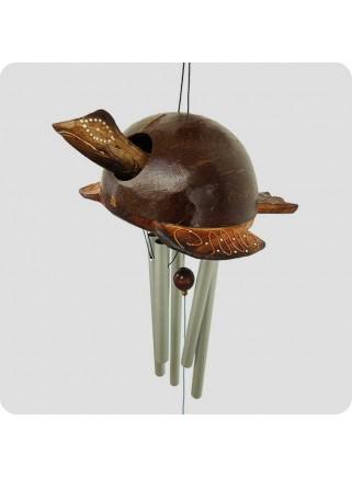 Windchime turtle metal