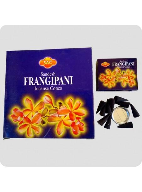 SAC incense cones frangipani