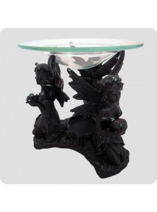 Aromalampe sort 3 fairies