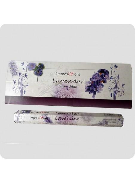Impressions hexa røgelse 6-pack - Lavendel
